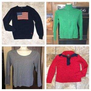 Bundle of Sweaters Ralph Lauren Tommy Hilfiger